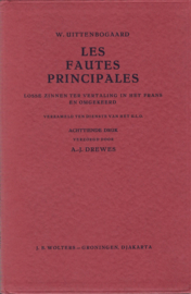 LES FAUTES PRINCIPALES – W. UITTENBOGAARD - 1955