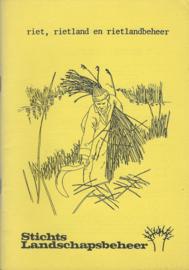 riet, rietland en rietlandbeheer - 1984