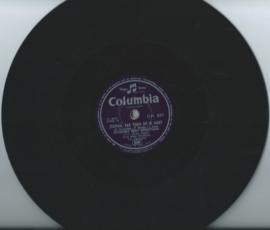 """ENSEMBLE EDDY CHRISTIANI - ZEEMAN, PAS TOCH OP JE HART / ZEEMANSHART - 10"""" - 1954 (♪)"""