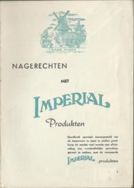NAGERECHTEN MET IMPERIAL PRODUKTEN -1953 (1)