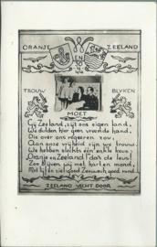 Ansichtkaart 'ZEELAND VECHT DOOR' - 1944