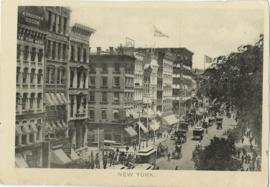 "RECLAMEKAART – CACAO ""A. DRIESSEN"" - NEW YORK - ca. 1900"