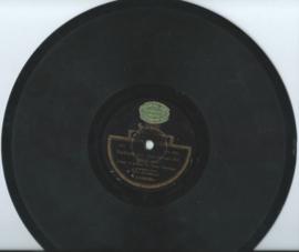 """DUO HOFMANN - Zachtjes aan, dan breekt het lyntje niet / Wat is er toch met Jansen ? - 10"""" - 1928 (♪)"""