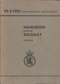 HANDBOEK VOOR DE SOLDAAT VS 2-1350 – UITGAVE 1976