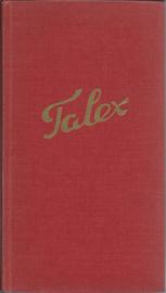 TALEX - COMPENDIUM VAN DE EXCATE VAKKEN - 1970