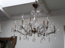 9-lamps kroonluchter.