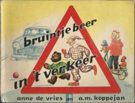bruintje beer in 't verkeer – anne de vries en a.m. koppejan – jaren 50