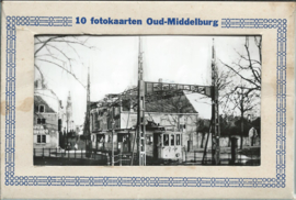 Mapje - 10 fotokaarten Oud-Middelburg