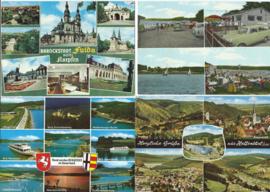 SET van 4 ansichtkaarten – Duitsland – o.a. 1966