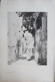 Prent – FOTO - RUE DU REMPART-MEDEE. – ALGER - Algiers - 1900-1939
