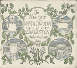 The Making of WEDGWOOD at BARLASTON Stoke-on-Trent - 1946