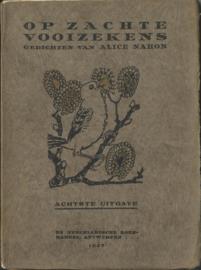 OP ZACHTE VOOIZEKENS – Gedichten van Alice Nahon - 1927