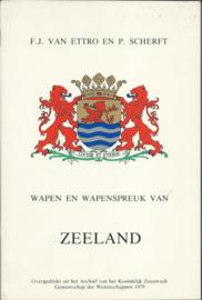WAPEN EN WAPENSPREUK VAN ZEELAND - 1979