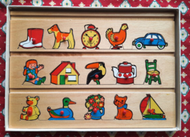 Knoppuzzle – SIMPLEX wooden play-board – No. 1181 - ca. 1972