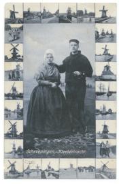 Ansichtkaart – Scheveningen, Kleederdracht – 1907