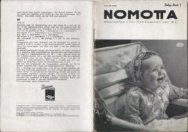 NOMOTTA – Maandblad voor Handwerken van Wol 1 – Baby-Boek 1 - 1935
