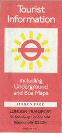 Tourist Information – LONDON - 1976