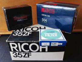 Fotocamera – RICOH 35 ZF met RIKENON LENS f = 40mm 1:2.8 – jaren '70