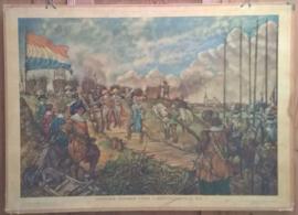Schoolplaat: FREDERIK HENDRIK VOOR 'S-HERTOGENBOSCH, 1629 - ca. 1948