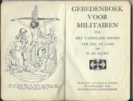 GEBEDENBOEK VOOR MILITAIREN – H.J.J.M. van Straelen - 1954