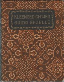 Kleengedichtjes 1. Driemaal XXXIII – Guido Gezelle – 1925
