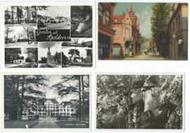 SET van 4 ansichtkaarten – Apeldoorn – 1915-1961