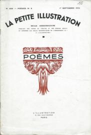 LA PETITE ILLUSTRATION - POÈMES - N°689 – 1er SEPTEMBRE 1934
