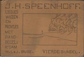 VIERDE BUNDEL - J.H. SPEENHOFF (DICHTER-ZANGER-TEEKENAAR) - 1916