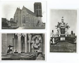 SET van 3 fotokaarten - De Nieuwe Kerk, Middelburg (#)