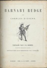 BARNABY RUDGE DOOR CHARLES DICKENS - 1888