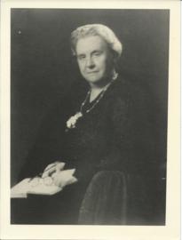 Prent – FOTO – Koningin Wilhelmina (1880-1962) – ca. 1945