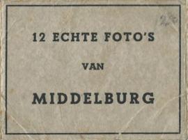 Mapje – 12 ECHTE FOTO'S VAN MIDDELBURG - ca. 193x (#)
