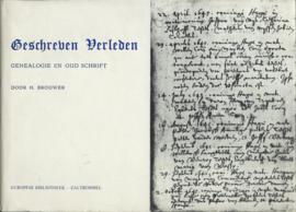 Geschreven Verleden DOOR H. BROUWER - 1970