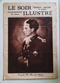 LE SOIR ILLUSTRÉ – Numéro spécial - Léopold III, Roi des Belges – 1934