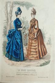 Prent – Mode Illustree, 1886, No 36 – (..) Huard / Isabelle Desgrange - 1886
