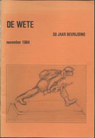 DE WETE – 50 JAAR BEVRIJDING - 1994