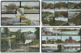 SET van 6 ansichtkaarten - Groot-Brittannië - ca. 1909