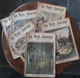 Le Petit Journal SUPPLÉMENT ILLUSTRÉ (supplément du dimanche) - 1897/1898
