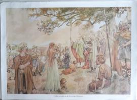 Poster: Ludger predikt in de Groninger Gouwen - ca. 1975 (1932) (*)