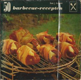 50 barbecue-recepten – BEN J. KUYPER - 1967