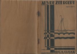 ALS DE ZEE ROEPT DOOR M. ELDER - 1931