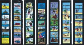 Filmstrips – Piet Lust e.a. – 20 stuks - ca. 1961