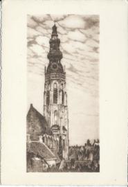Briefkaart - LANGE JAN - MIDDELBURG - ca. 1930 (#)(*)