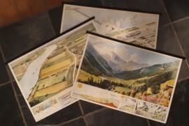 Wandplaten - Serie - Kijk, zó zit dat – 18 stuks - 1984