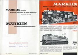 MÄRKLIN HAMO - folder - H hfl - 1967