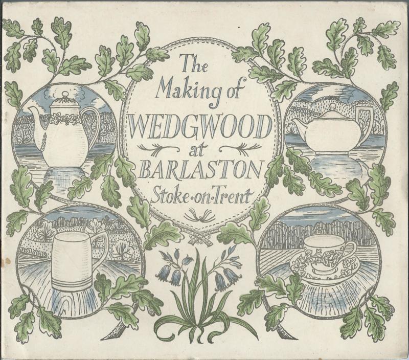The Making of WEDGWOOD at BARLASTON Stoke-on-Trent - 1946