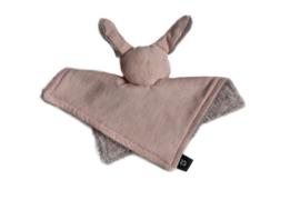 """Knuffeldoek """"Bunny"""" CR Dusty roze"""