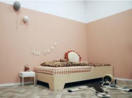 "Bed ""Loua"" 140x70 cm"