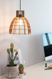"De Lingehof  lamp ""Cone"" Naturel"