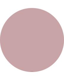 """Vloermat """"Oud roze"""" Rond"""